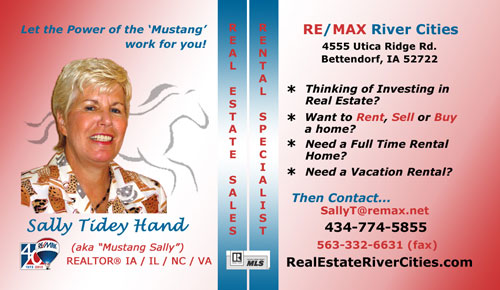Quad Cities Real Estate Agent - Sally Tidey Hand